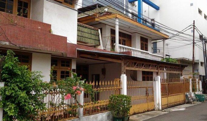 Dijual Rumah di Cideng deket jalan Musi