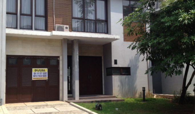 Dijual Rumah di Cluster Ritzone The Icon BSD