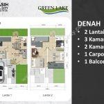 Jatiasih Central City Cluster Green Lake